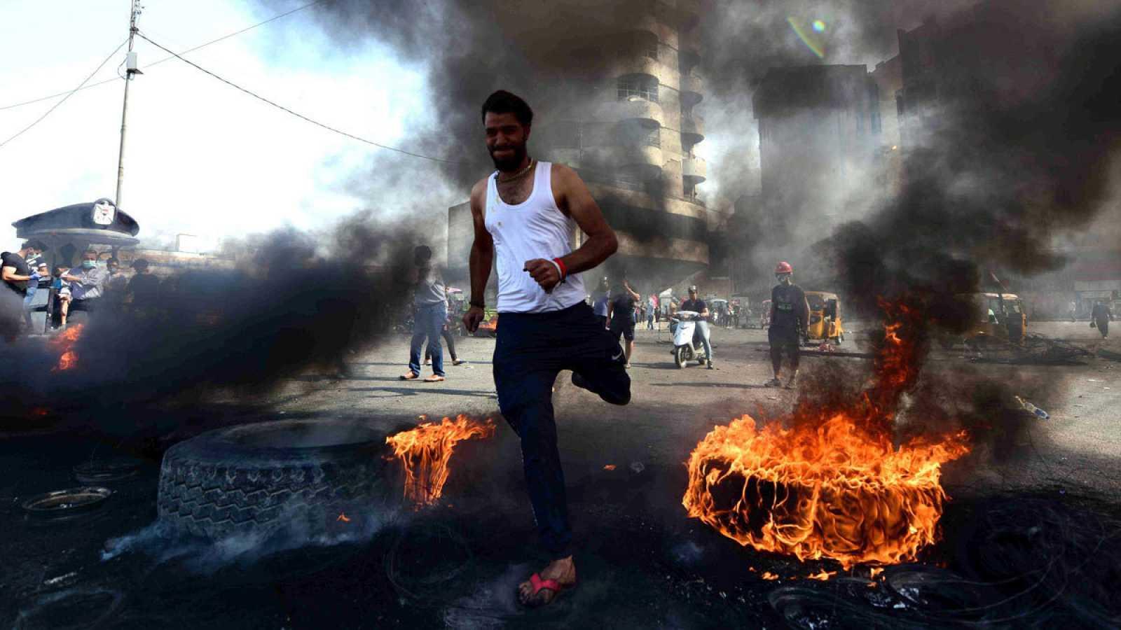 Al menos 269 personas han muerto y 8.000 han resultado heridas durante las protestas en Irak