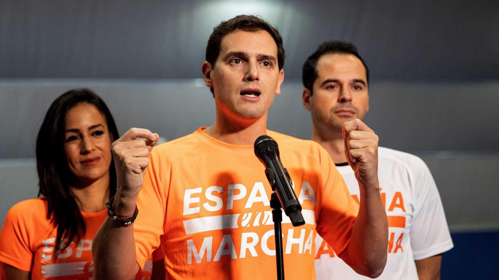 """En Marcha"""", el penúltimo acto de campaña en el polideportivo Antonio Mata, del distrito madrileño de San Blas"""