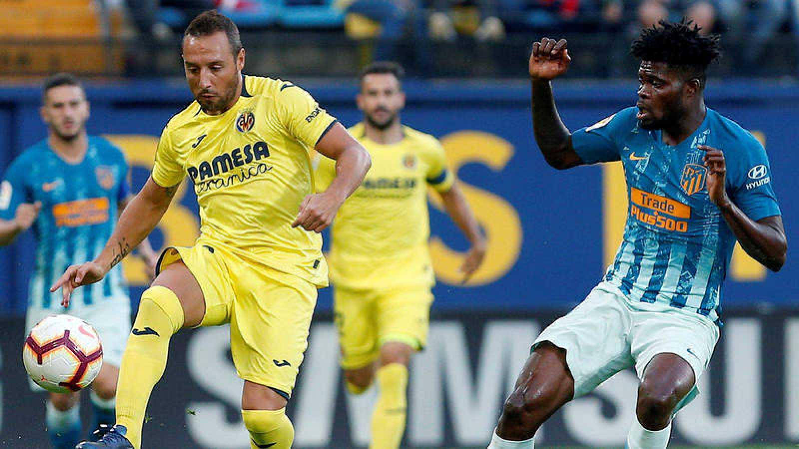 Imagen del Villarreal - Atlético de la pasada temporada.