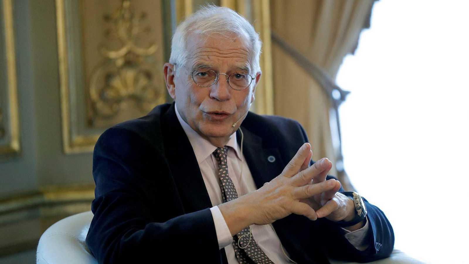 El ministro de Exteriores en funciones JosepBorrellEFE/Zipi