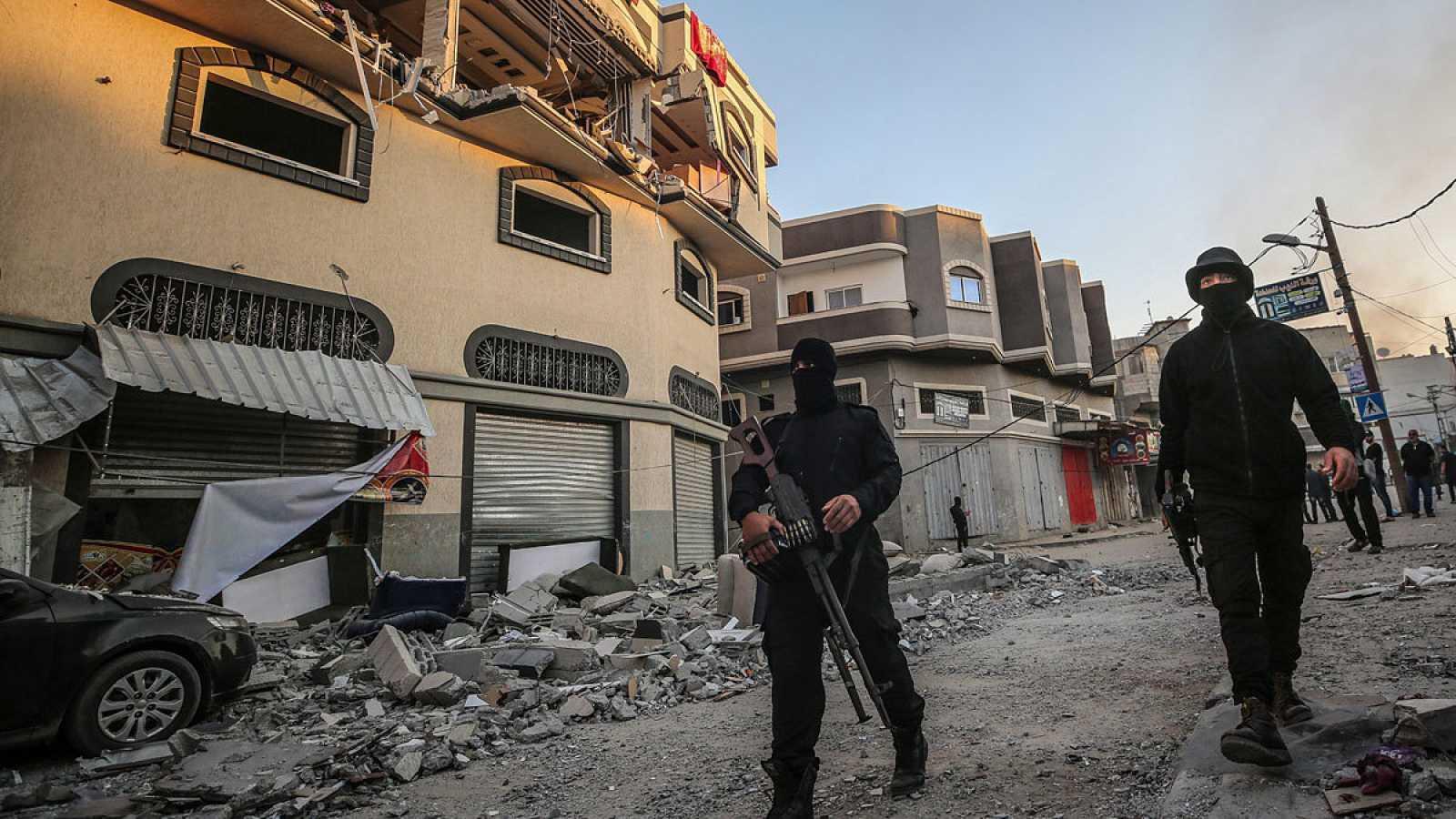 Lanzan decenas de cohetes desde Gaza tras la muerte del líder de la Yihad Islámica