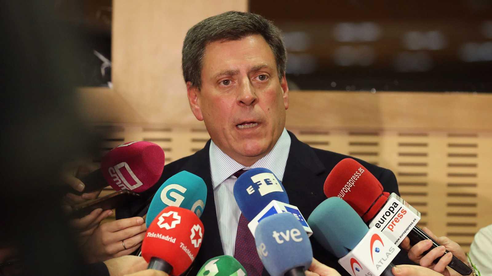 Juan Carlos Quer, padre de la joven madrileña Diana Quer que murió asesinada en agosto de 2016 en A Coruña