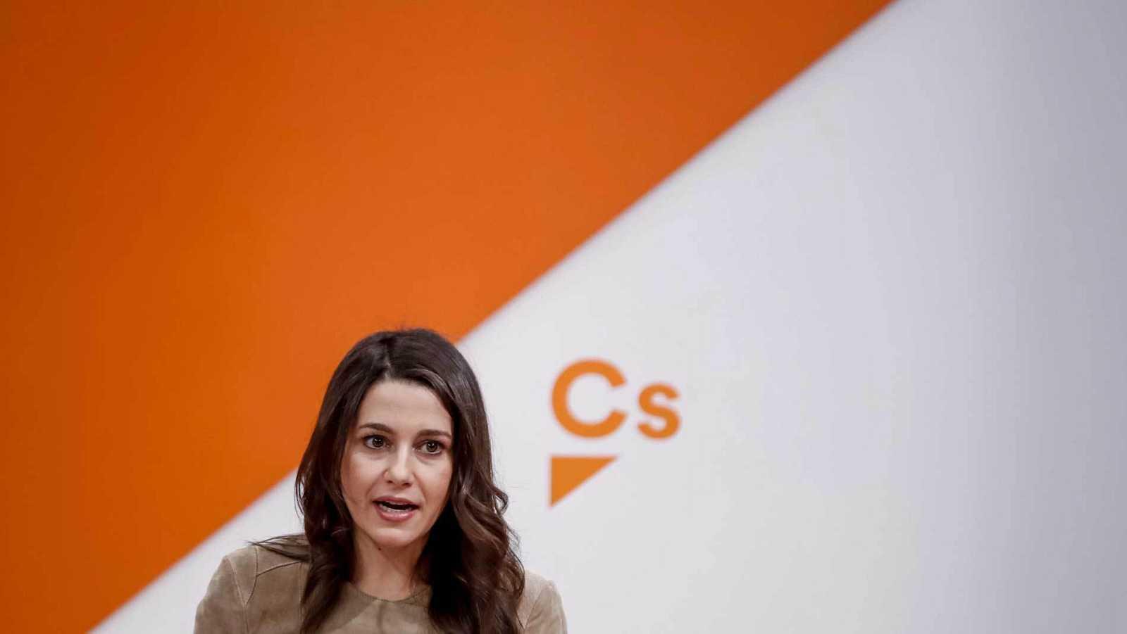 La diputada de Ciudadanos, Inés Arrimadas, en una imagen de archivo.