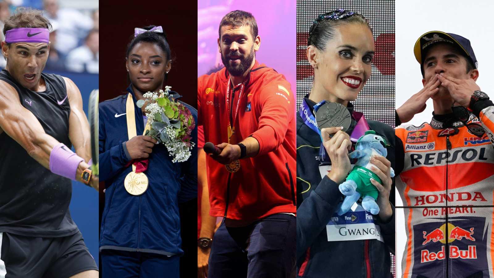 Los mejores deportistas del año