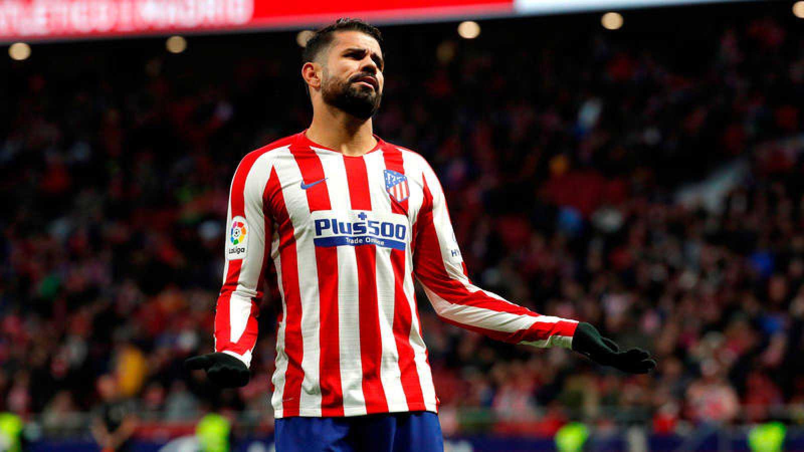 El delantero del Atlético de MadridDiegoCosta