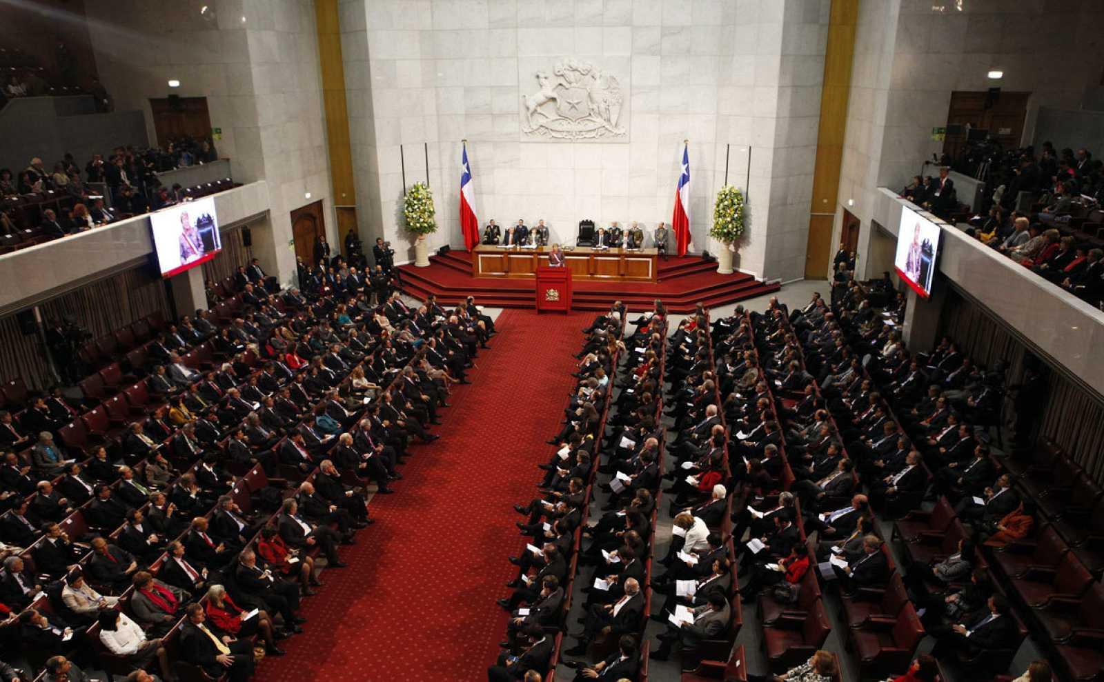 El parlamento chileno en una imagen de archivo durante la presidencia de Michelle Bachelet
