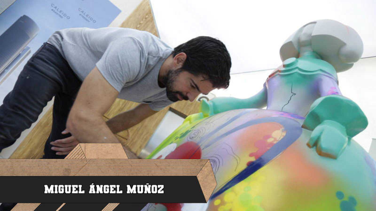 El actor Miguel Ángel Muñoz, esta semana 'Ritmo Urbano'