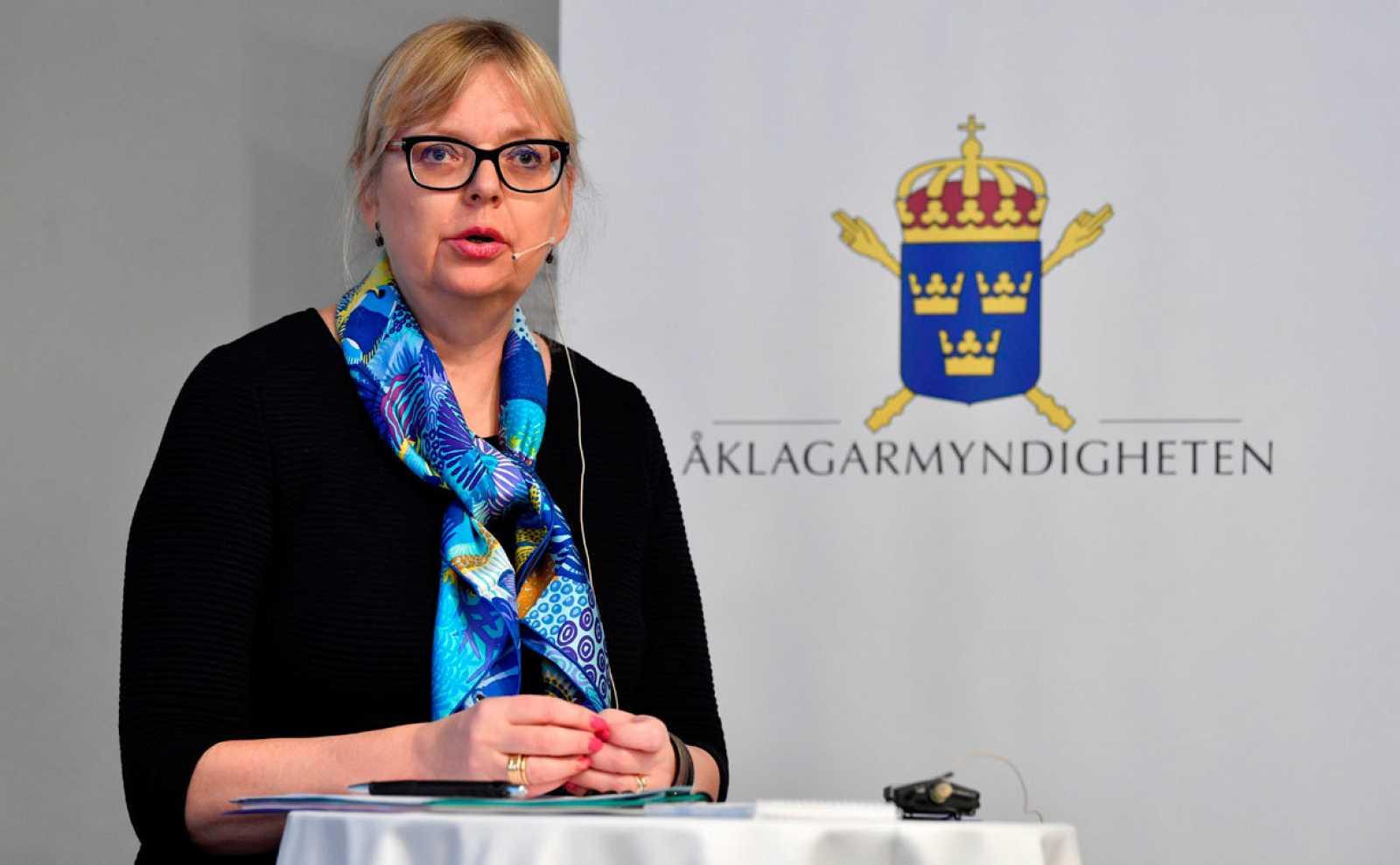 La fiscal superior, Eva-Marie Persson, había ordenado en mayo reabrir el casoiniciado en 2010 y cerrado en 2017