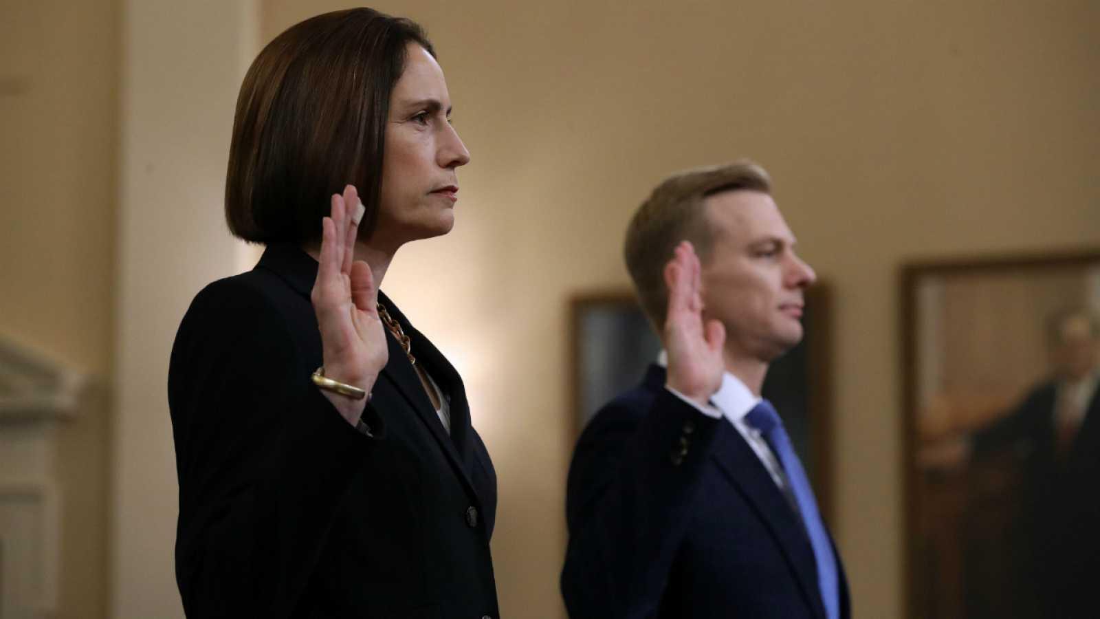 Fiona Hill y David Holmes comparecen ante el Congreso sobre el 'impeachment'