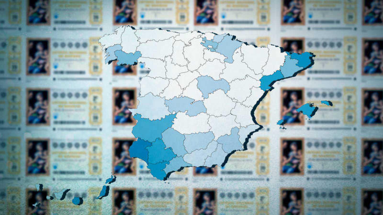 Mira los mapas con el gasto total y por persona, detallado por provincias