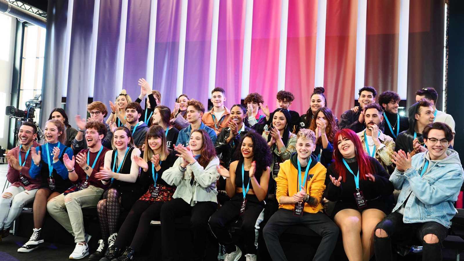 Los 30 finalistas de OT 2020