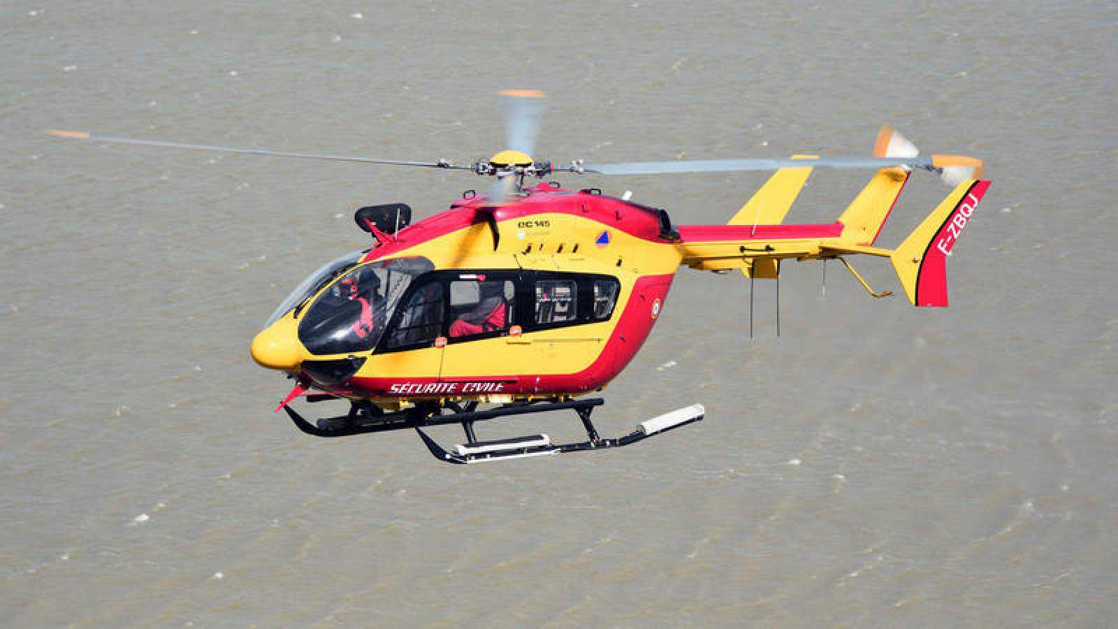 Mueren tres rescatistas en un accidente de helicóptero en Marsella