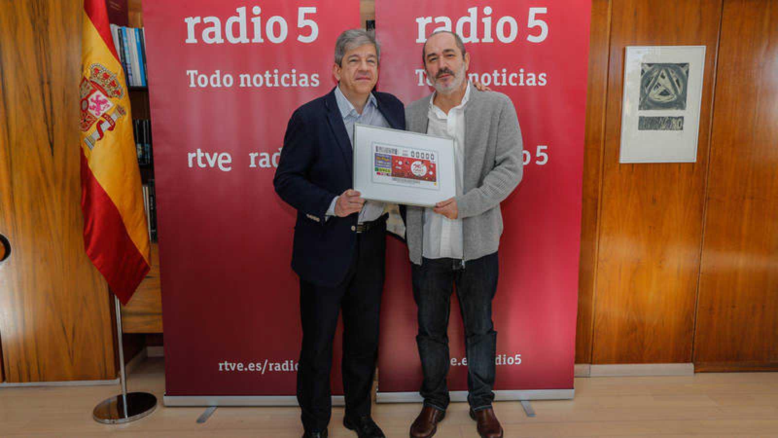 Antonio Mayor Villa y Fernando Martín