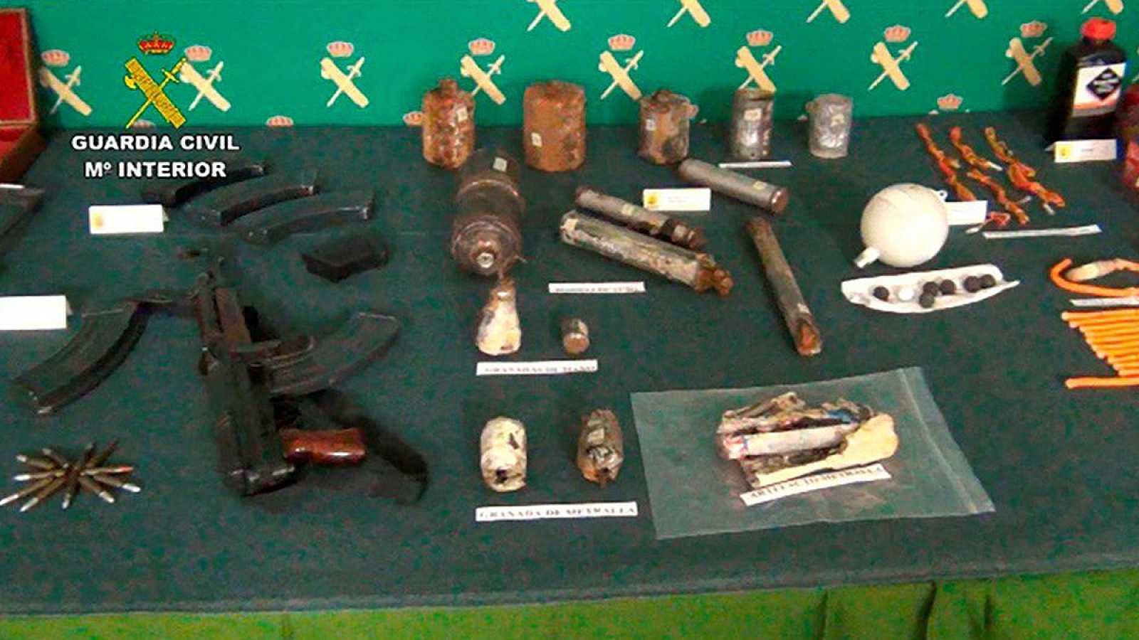Desmantelan un taller de armas y explosivos en un piso en Miranda (Burgos)
