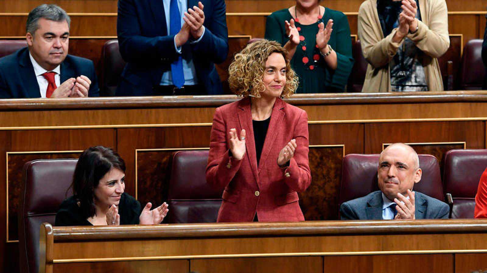 Meritxell Batet (PSOE) ha sido reelegida como presidenta del Congreso de los Diputados