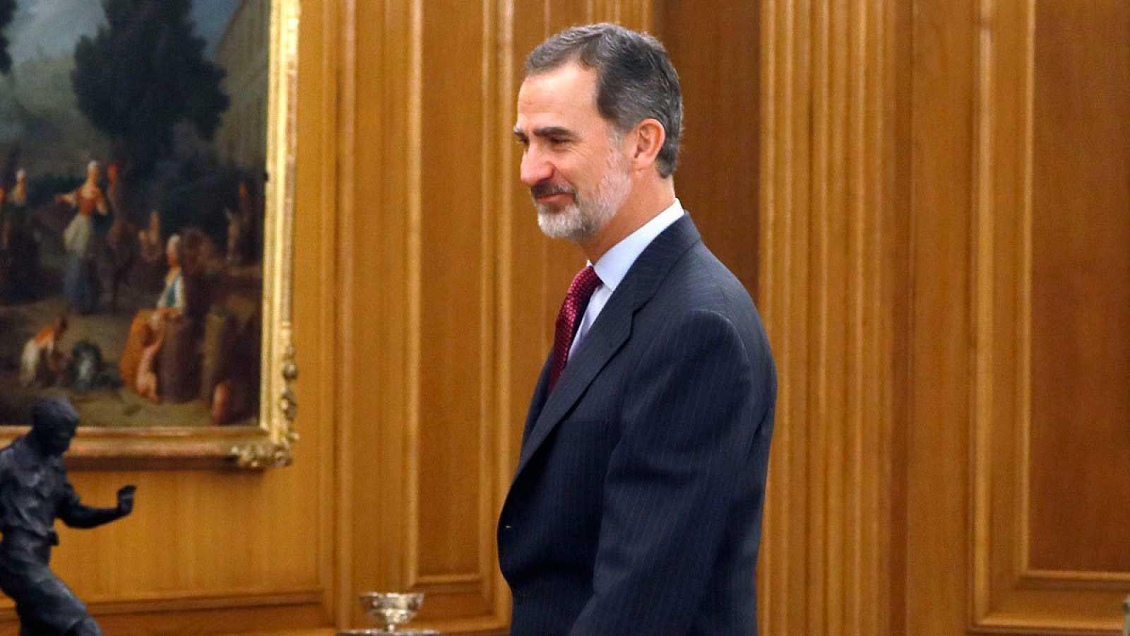 Imagen de archivo de Felipe VI en el Congreso de los Diputados