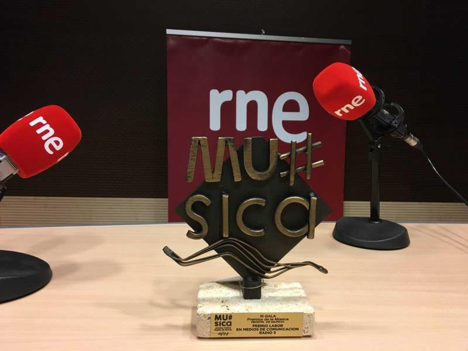 Radio 3 recibe el Premio de la Música de la Región de Murcia 2019