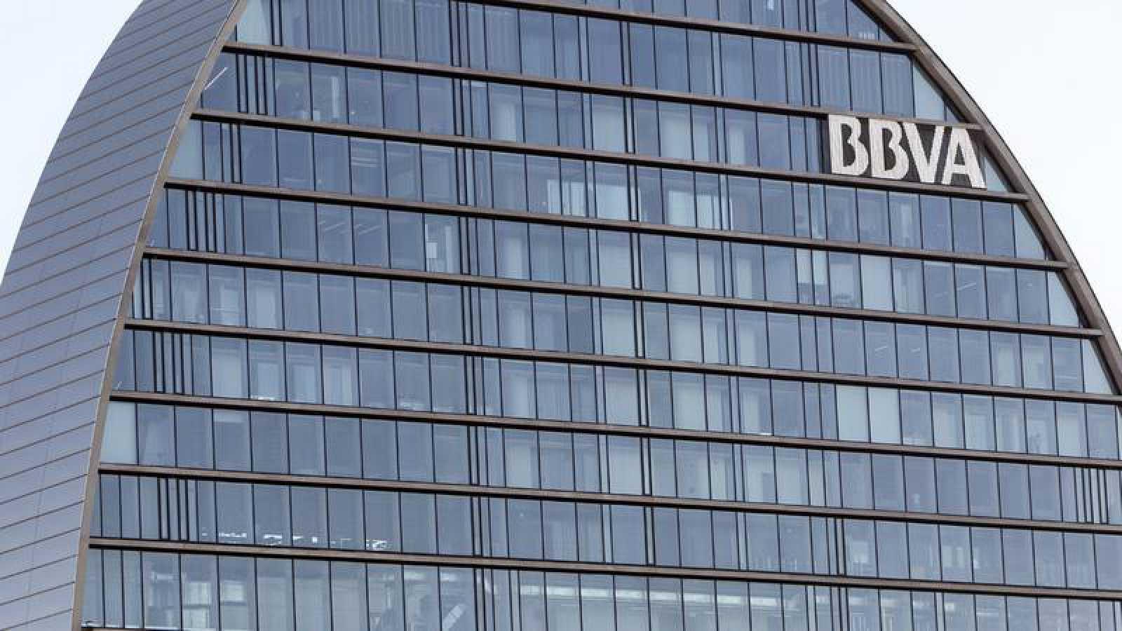 Imagen de archivo del edificio del BBVAen Madrid