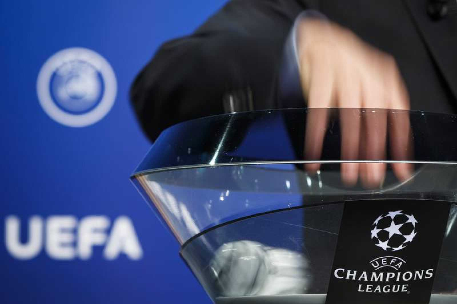 Un sorteo de la Champions League