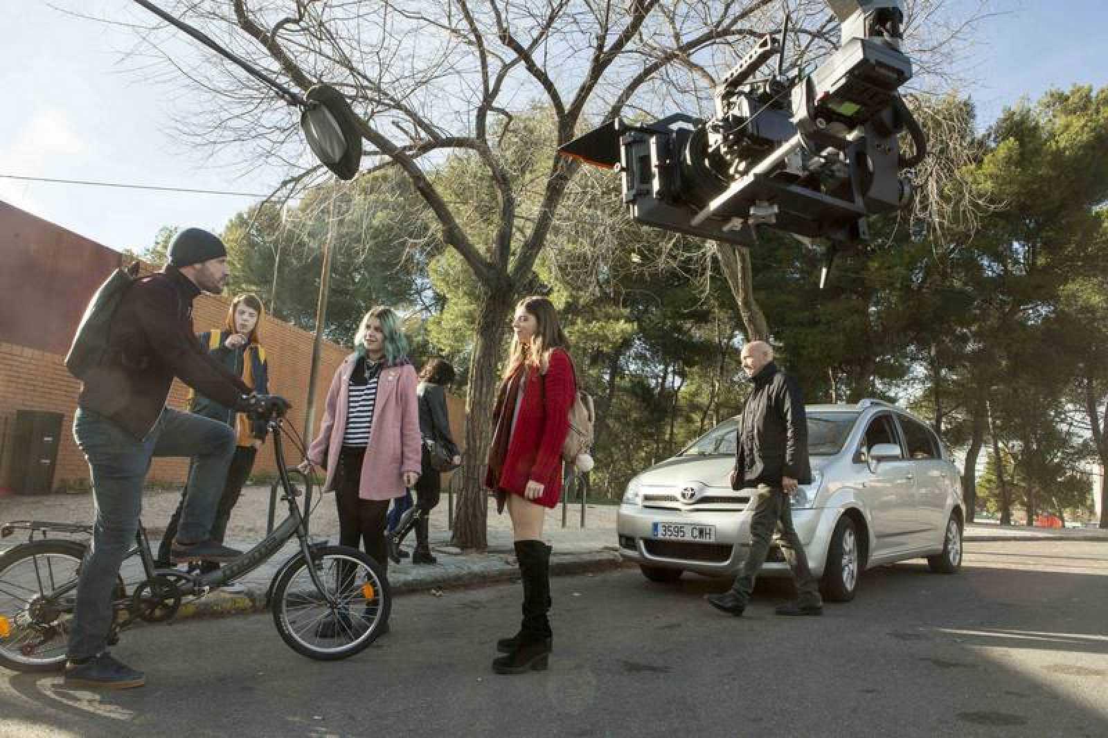 RTVE inicia el rodaje de la nueva serie 'HIT'