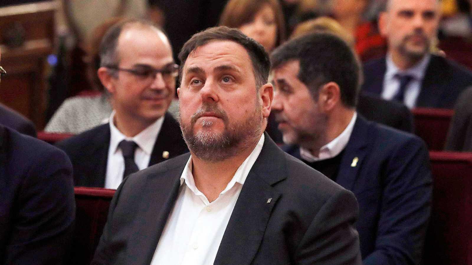 El líder de ERC, Oriol Junqueras, en una imagen de archivo