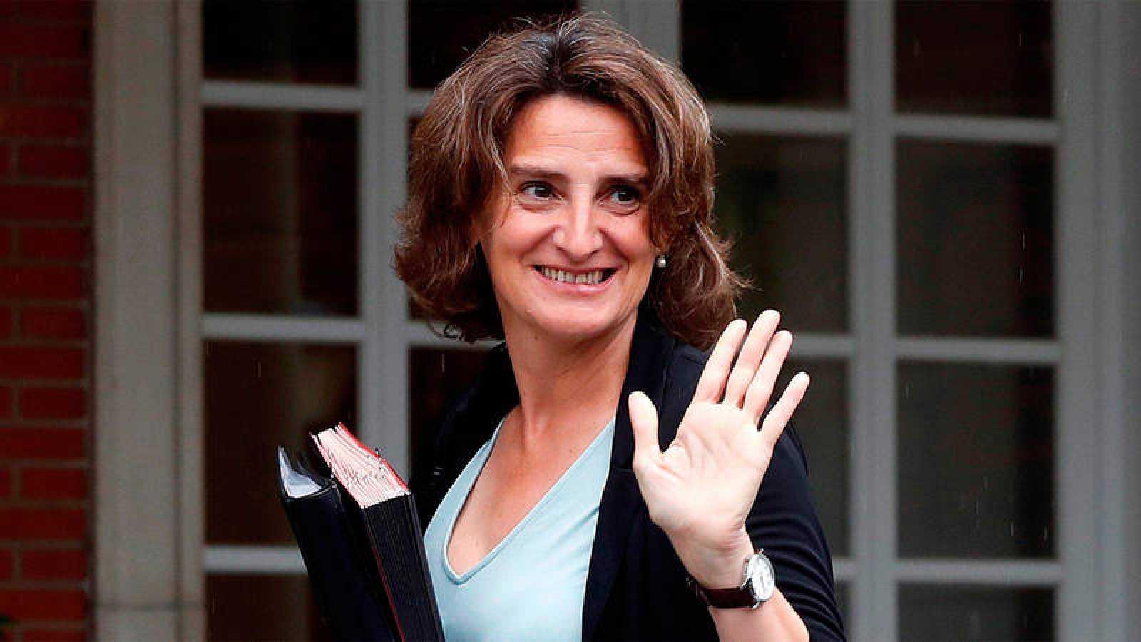 La nueva vicepresidenta para la Transición Ecológica y el Reto Demográfico, Teresa Ribera