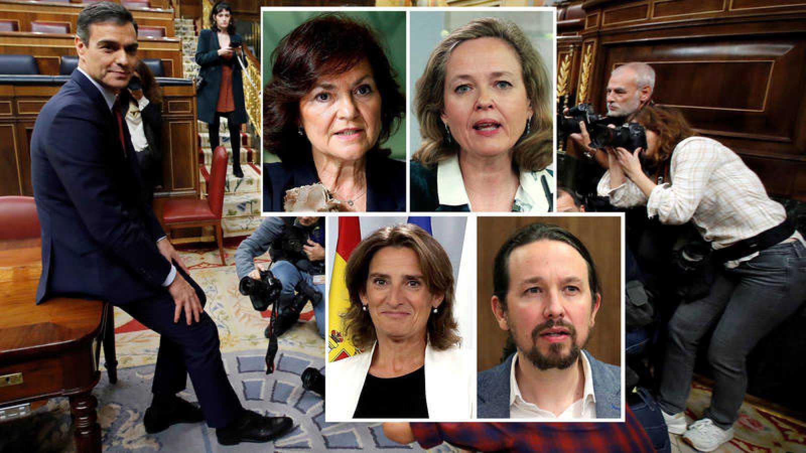 Pedro Sánchez será el primer presidente del Gobierno en contar con cuatro vicepresidencias
