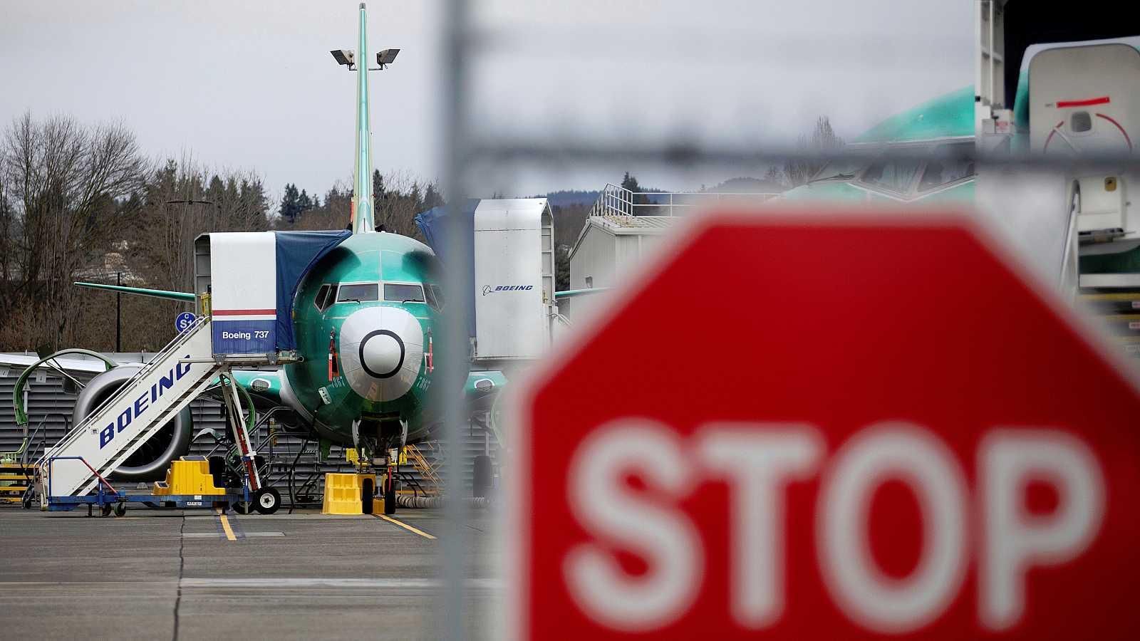 La producción del Boeing 737 MAX se encuentra detenida.