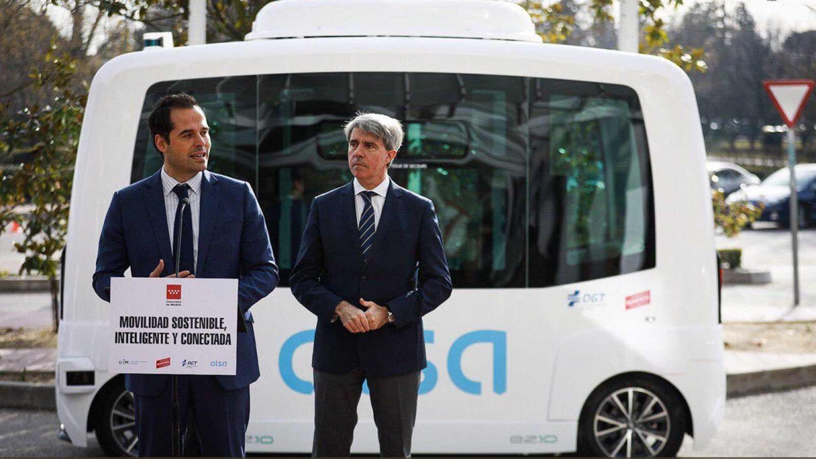 La Comunidad de Madrid lanza la primera línea de autobús sin conductor