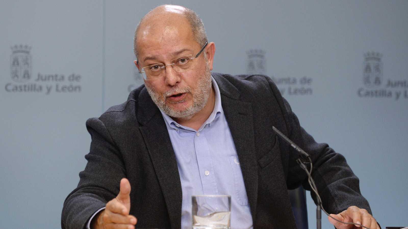 Francisco Igea presenta su renuncia como secretario regional de programas de Ciudadanos