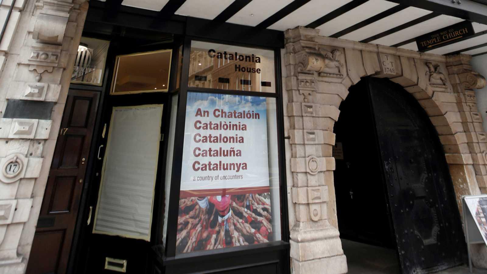 Imagen de Archivo del mes de junio de una delegación catalana en el exterior