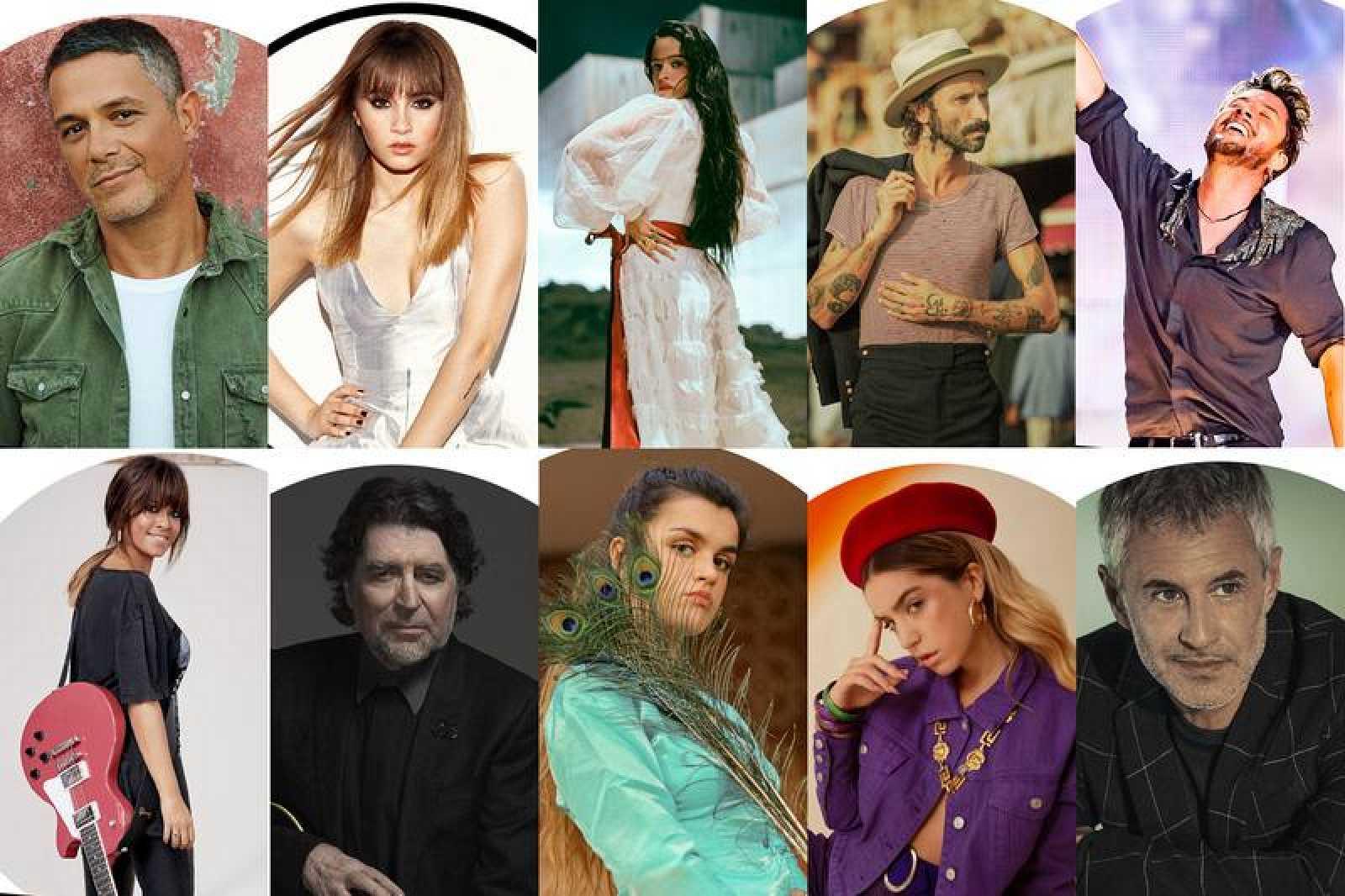 Parte de los artistas que aspiran a los Premios Odeón