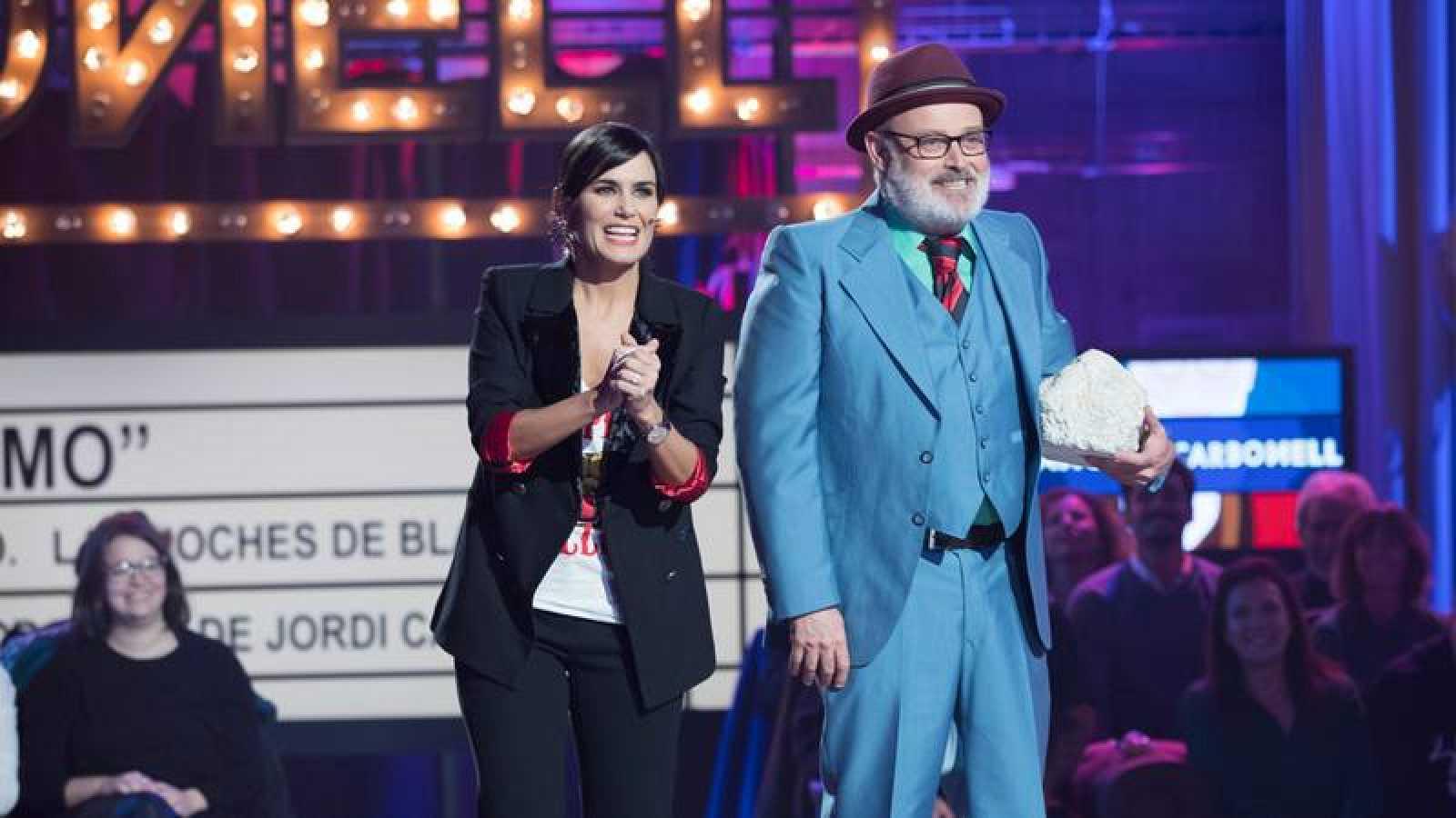 Sánchez y Carbonell, con Elena S. Sánchez y Pablo Carbonell