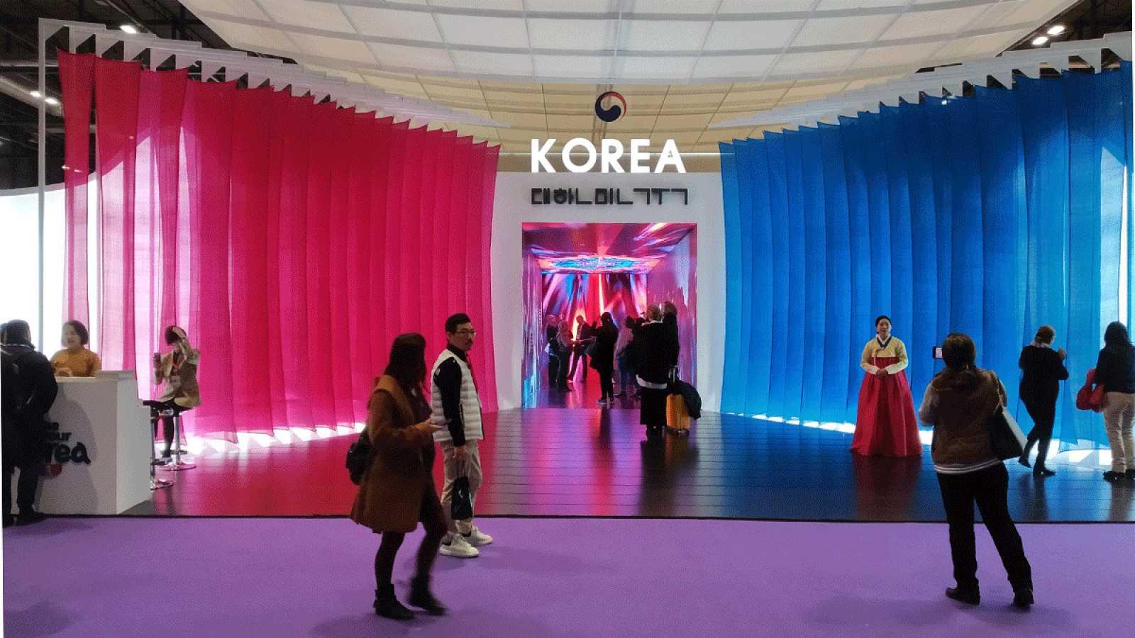 'Stand' de Corea del Sur en la 40º edición de Fitur