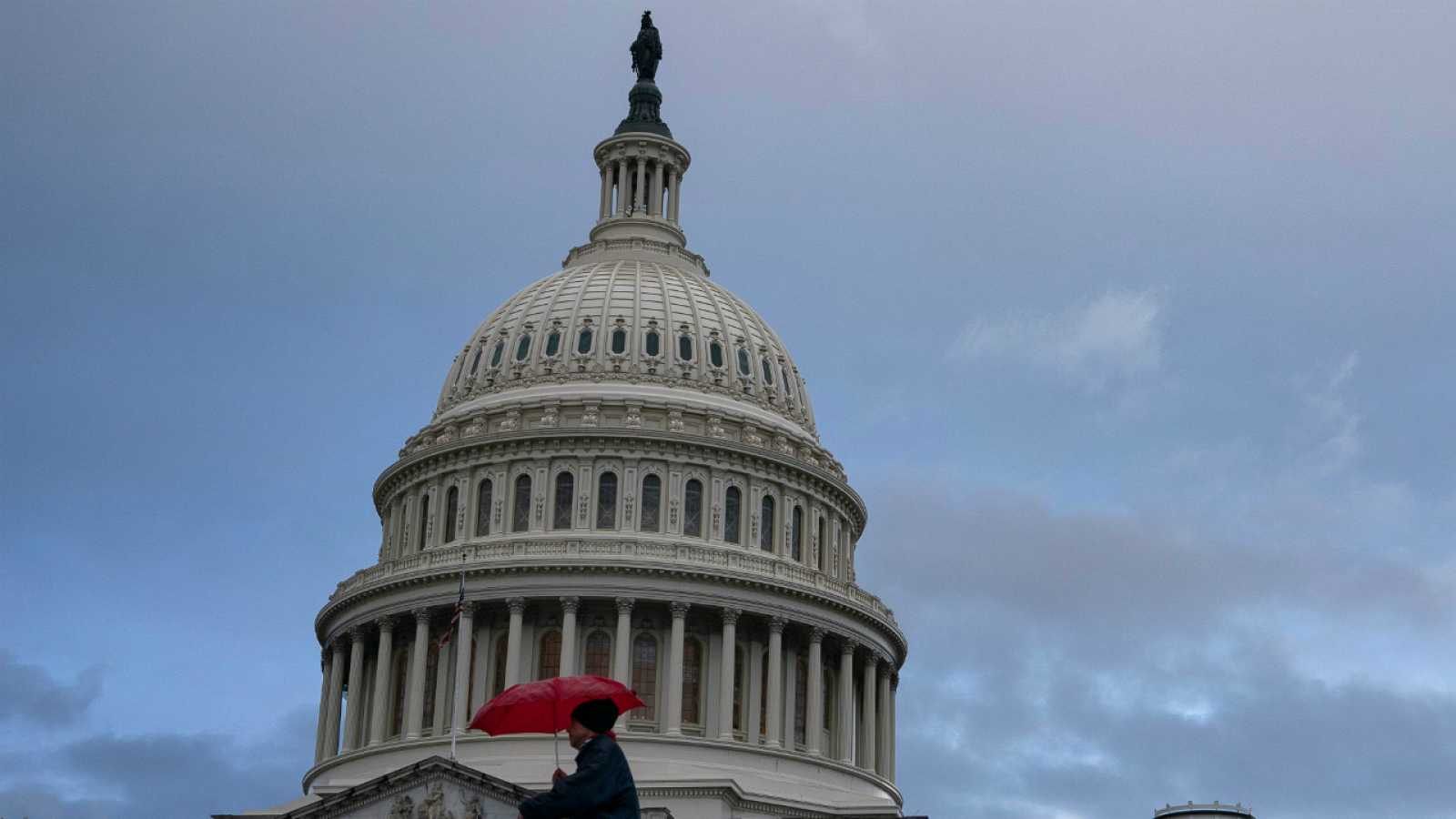 El Capitolio, este sábado en Washington