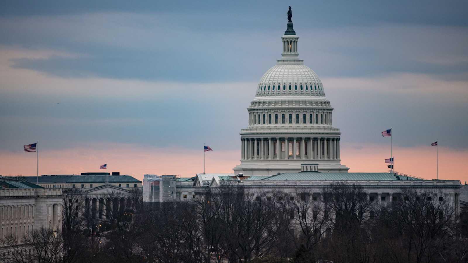 El Capitolio, este lunes en Washington