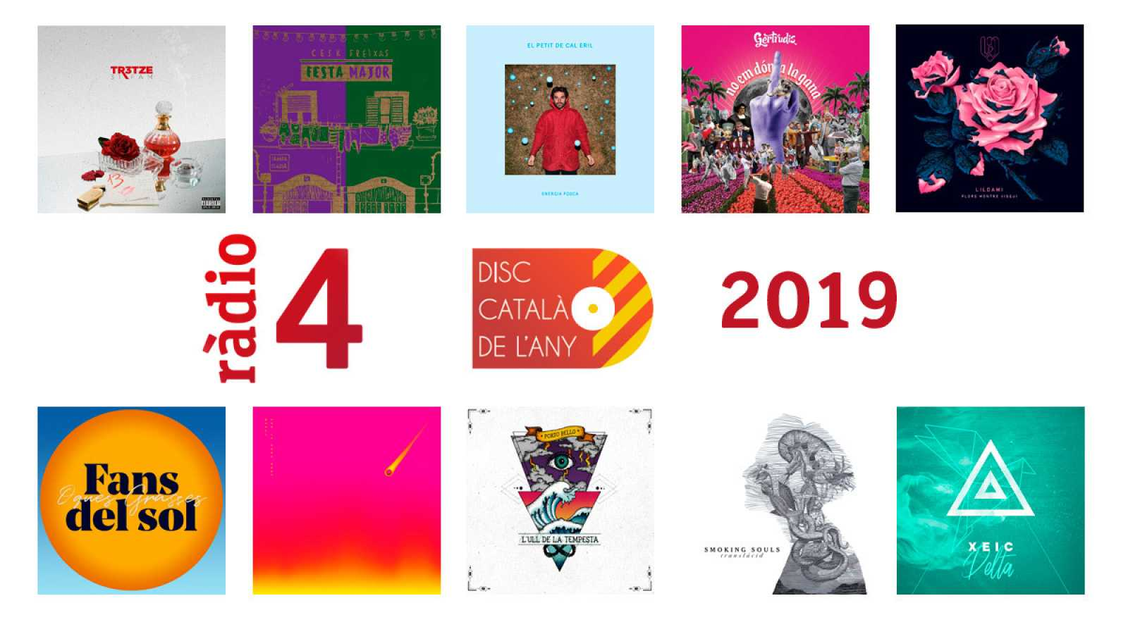 Finalistes del Premi disc català de l'any 2019