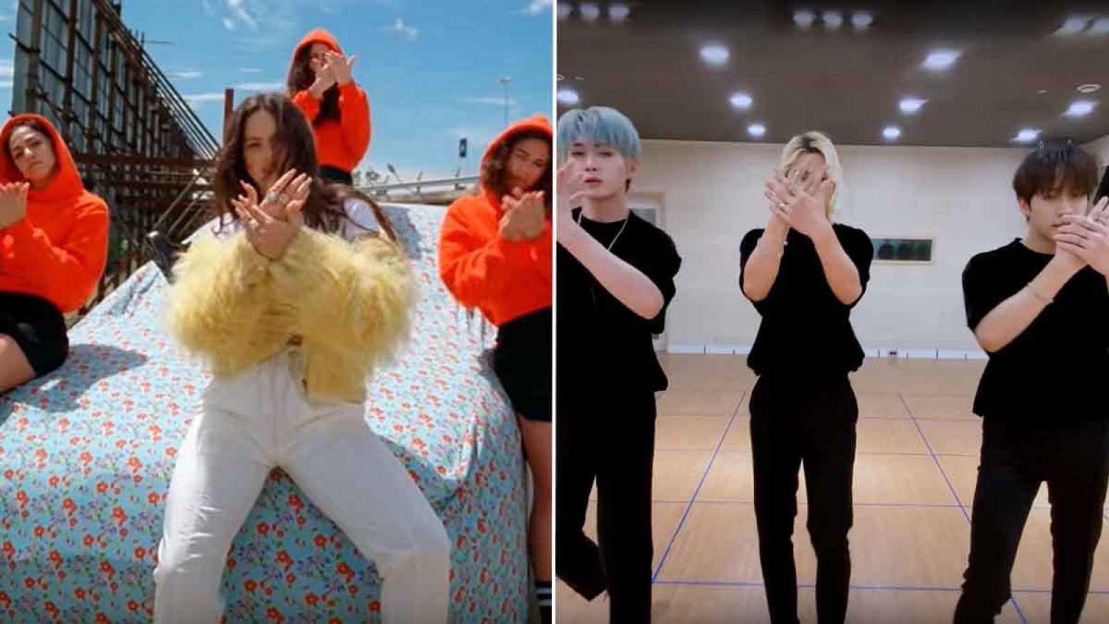 Imagen del vídeoclip de Rosalía y del viral de OnlyOneOf