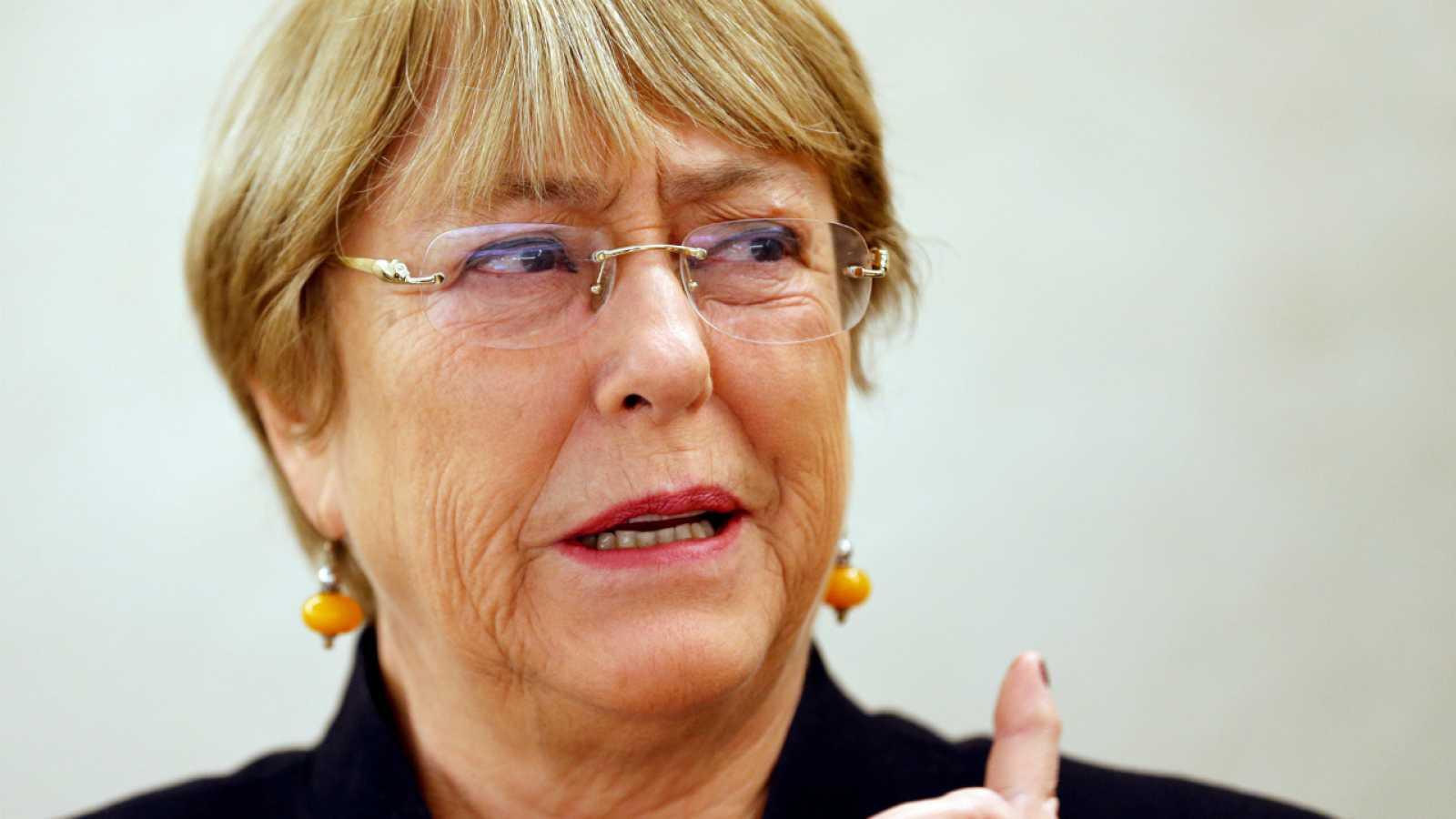 Fotografía de archivo de la Alta Comisionada de Derechos Humanos de la ONU, Michelle Bachelet