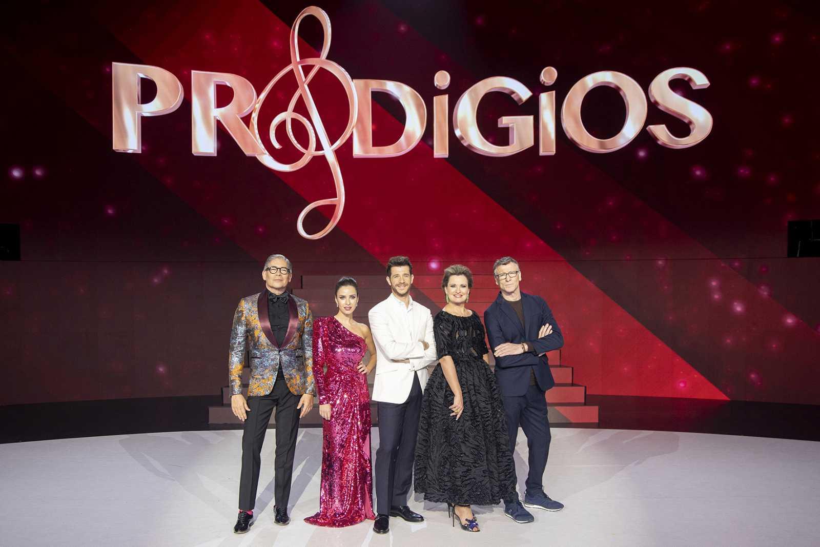 El jurado de Prodigios con Boris y Paula Prendes