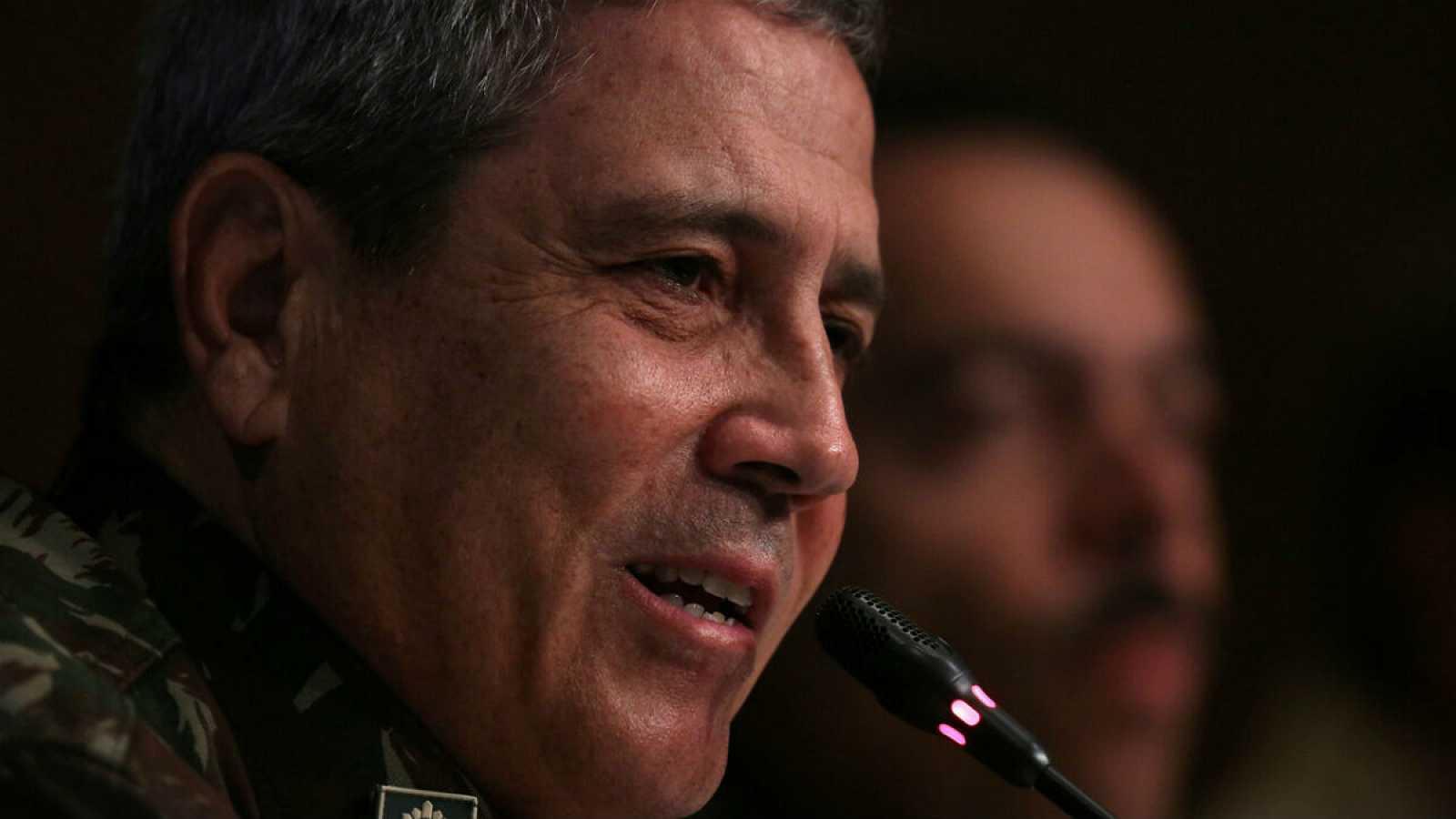 Walter Braga Netto ha sido designado como ministro de Presidencia dentro del gobierno del ultraderechista Jair Bolsonaro, presidente de Brasil. En la imagen, durante una conferencia en Río de Janeiro en 2018.