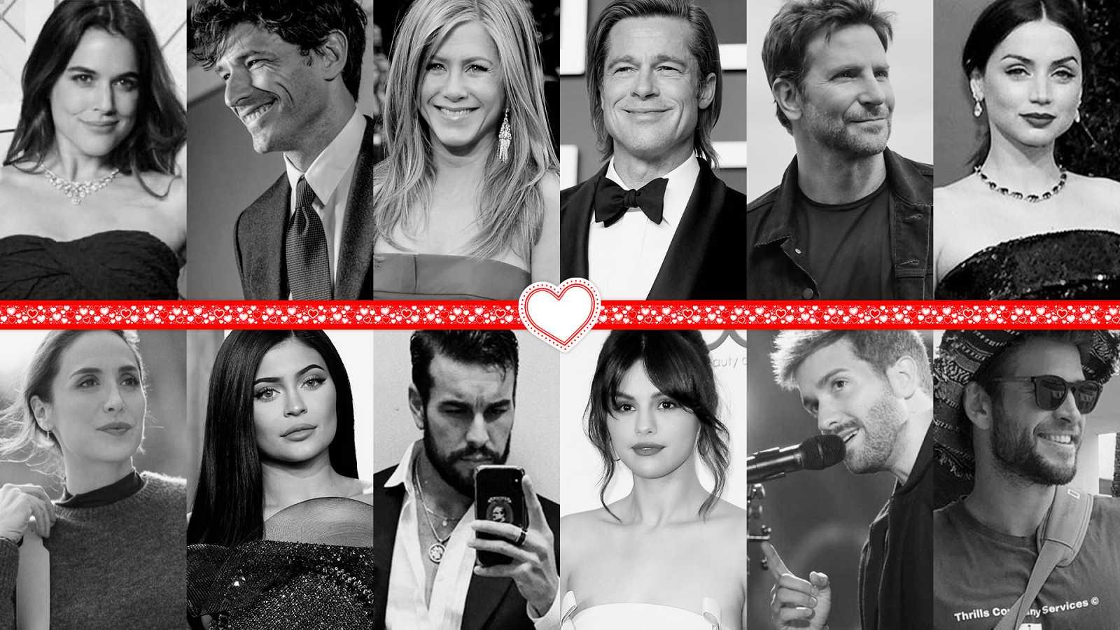 San Valentín, famosos solteros en 2020