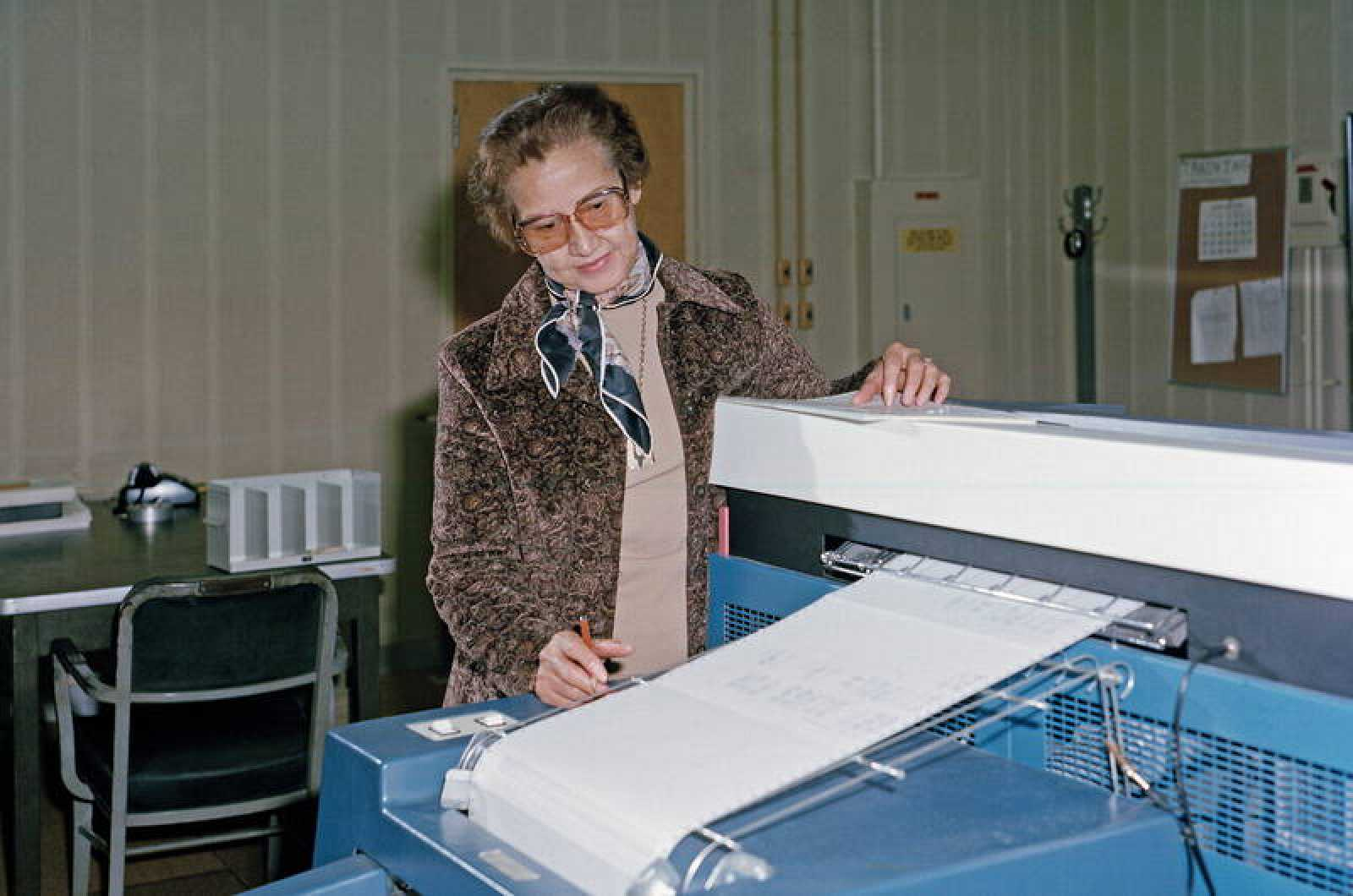 Muere Katherine Johnson, la matemática que llevo a la humanidad a la Luna