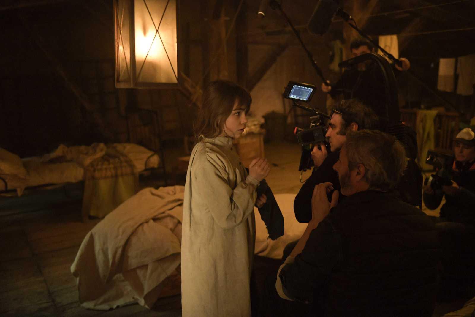Igor Legarreta, durante el rodaje de 'Todas las lunas'