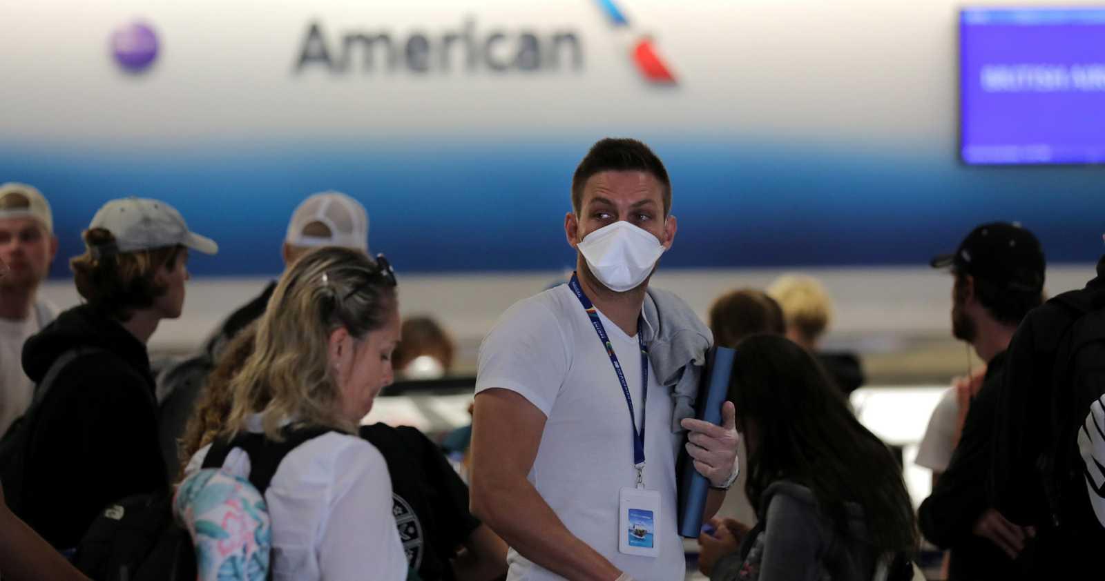 El coronavirus aísla a los estadounidenses