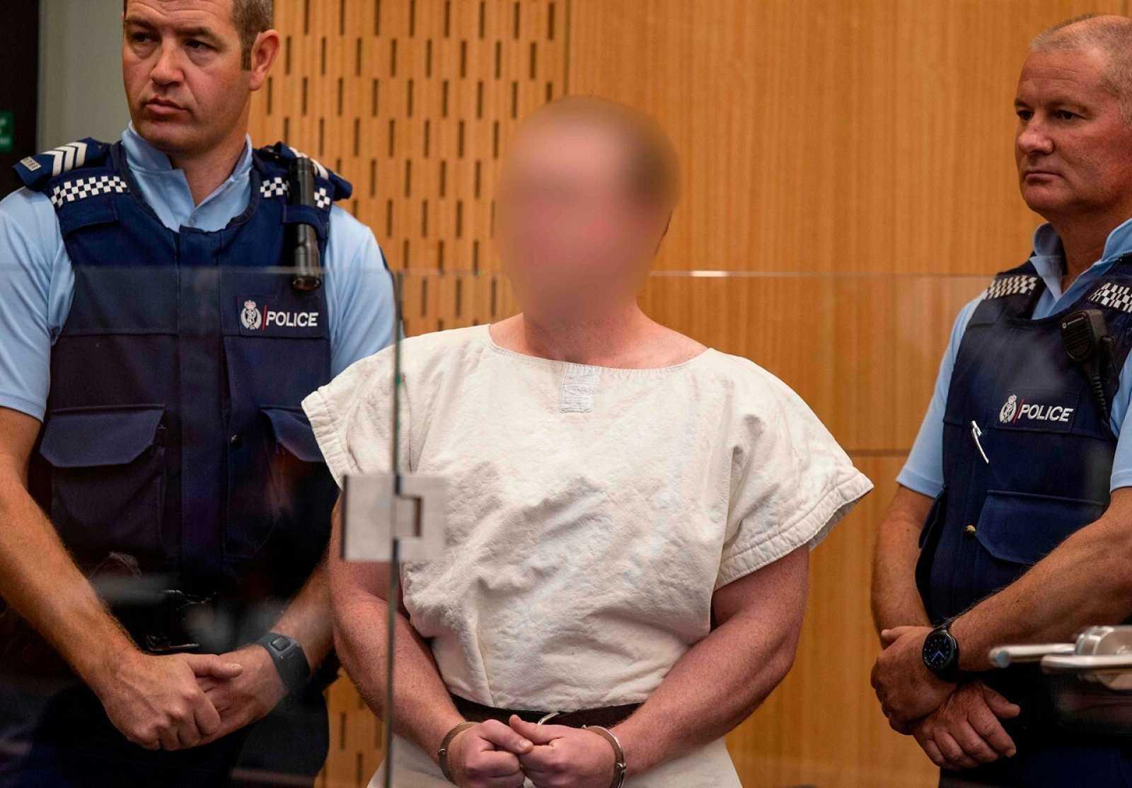 Foto de archivo de Brenton Tarrant, autor confeso de los atentados de Christchurch