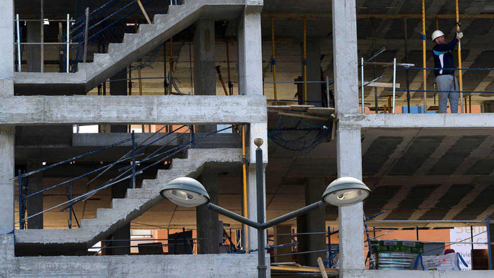 Edificio en construcción en Valencia