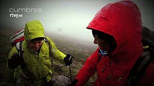 NoticiaCumbres consiste en subir con Edurne Pasabán y un invitado a una cima de la geografía española
