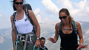 NoticiaGemma Mengual es la primera invitada de Edurne Pasabán en 'Cumbres'
