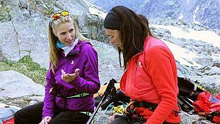 NoticiaJudit Mascó y Edurne Pasaban suben a L'Agulla Gran d'Amitges, en el Pirineo Catalán